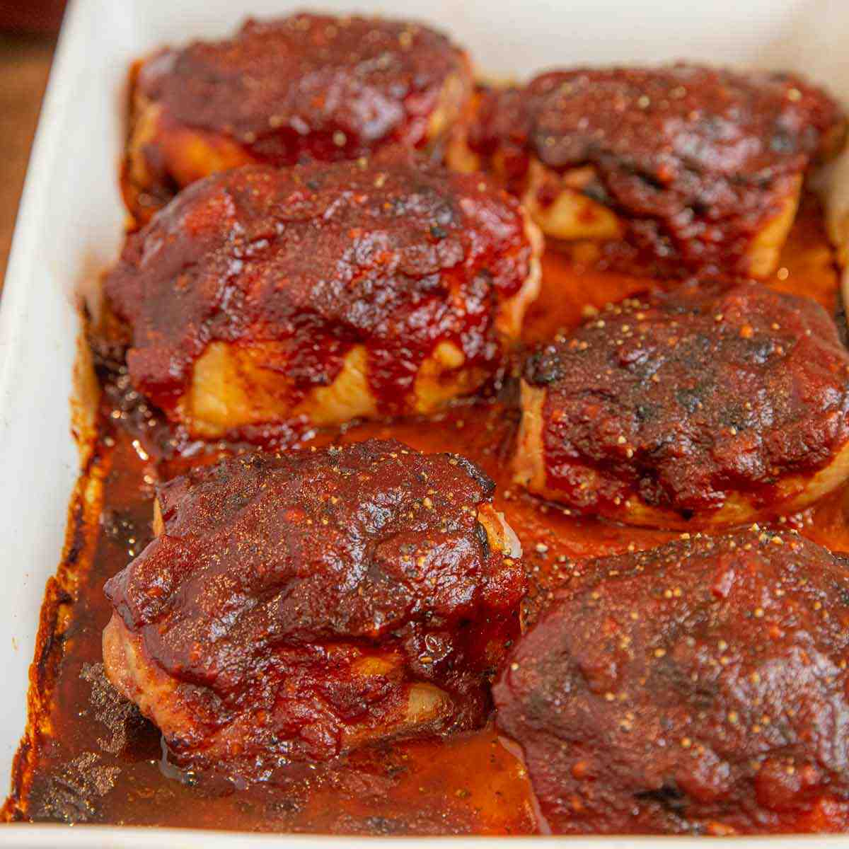 How make barbecue chicken in the oven