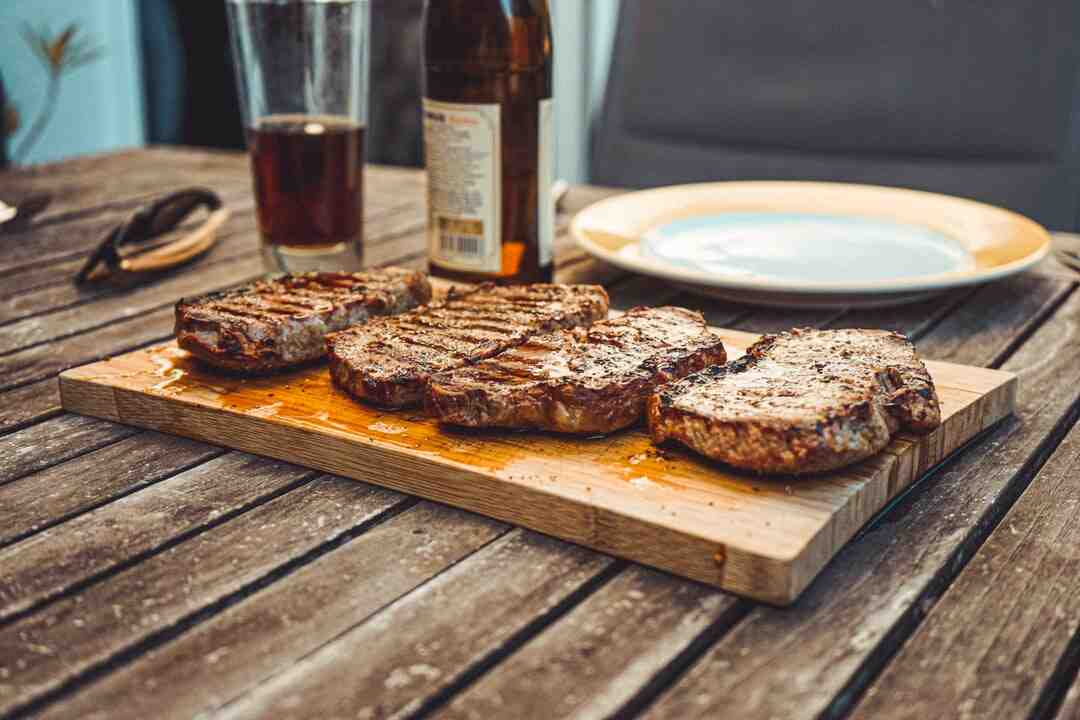 How to barbecue steak