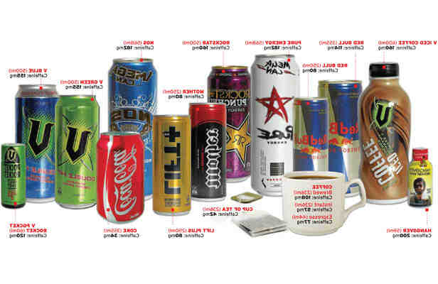 What drinks contain caffeine